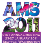 Which 13 topics will AER present at AMS?